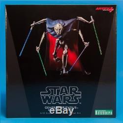 Kotobukiya Artfx+ Star Wars Revenge Of The Sith General Grievous 1/10 Vinyl New
