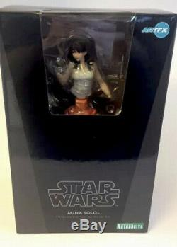 Kotobukiya Star Wars Jaina Solo Bishoujo Statue BRAND NEW FACTORY SEALED 2012