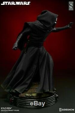Kylo Ren Exclusive Statue Sideshow Brand New Low # 3 Star Wars