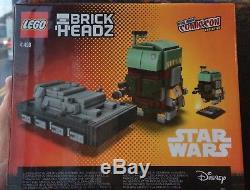 LEGO Brickheadz New York Comic Con 2017 EXCLUSIVE Signed by the creator