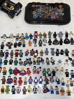 LEGO Huge Minifigure Lot Star Wars Ninjago Marvel DC Comics Batman Simpsons