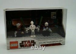 LEGO Mini Figure Collectible Display Set-4 Comic-Con 2009 Ultra Rare Star Wars