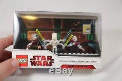 LEGO STAR WARS figures 2009 COMIC CON EXCLUSIVE SET GENERAL GRIEVOUS COUNT DOOKU
