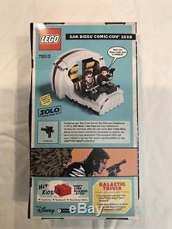 LEGO Star Wars SDCC 2018 Comic Con Exclusive Millenium Falcon Cockpit 75512 NEW