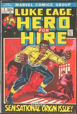 Luke Cage Hero For Hire #1 1st Luke Cage 1st Diamondback Netflix Tv Show Hot Htf
