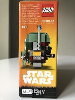Lego Brickheadz NYCC 2017 Boba Fett Han Solo Star Wars Comic Con Exclusive New