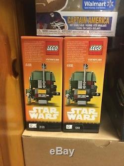 Lego Brickheadz nycc 2017 2018 Boba Fett Han Solo Star Wars Comic Con Exclusive