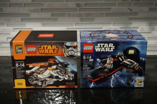Lego Sdcc Comic Con 2013 2014 Star Wars Jek 14 Mini Stealth & The Ghost Starship