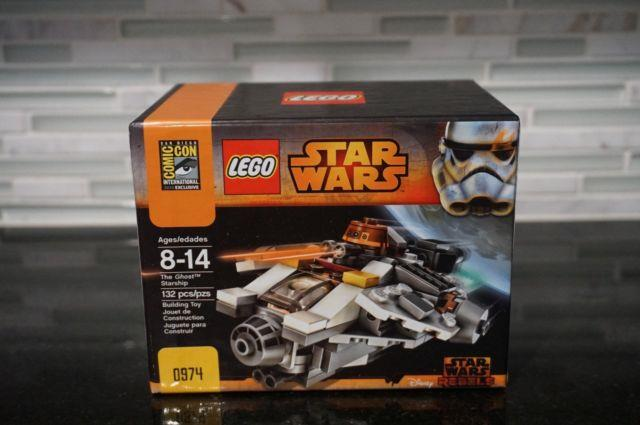 Lego Sdcc Comic Con 2014 Exclusive Star Wars The Ghost Starship #974 Sealed