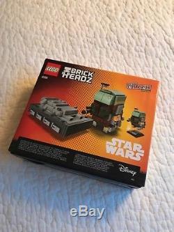 Lego Star Wars Boba Fett Han Solo BrickHeadz NY Comic Con 2017