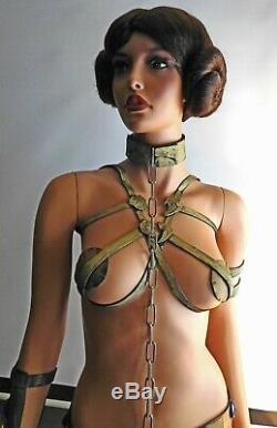 Life Size Star Wars Slave Princess Leia Statue Figure Super Sexy Jedi