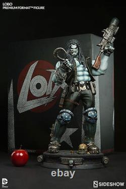 Lobo Premium Format 1/4 Statue DC Comics Universe Sideshow