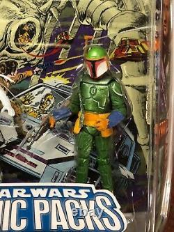Lot Of 6x Star Wars Comic Packs #69 #32 #4 #5 #3 #82 Rare White Vader Tobbi Dala