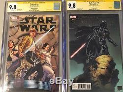Lot of 10 CGC Marvel Star Wars Darth Vader Comic Books
