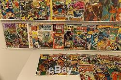 Lot of 130 Silver/Bronze comics with Keys Star Wars, Spider-Man, Daredevil & More