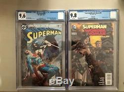 Lot of 13 CGC Comics DC / Marvel Superman Batman Wonder Woman Star Wars