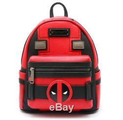 Loungefly Marvel Comics Deadpool Mini Backpack Costume Gift