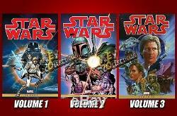 MARVEL Star Wars Omnibus Vol 1 2 3 HC Marvel Years