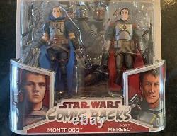 MONTROSS and JASTER MEREEL Star Wars Comic Pack Mandalorian Ep 14 tie in