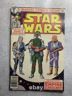 Marvel Comic Book STAR WARS #42, First Boba Fett, First Full Yoda, Dec. 1980