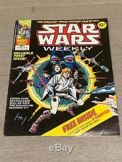 Marvel Comics Group Star Wars Weekly Issue #1 Feb 1978 No 1 Bronze Age