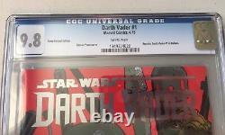 Marvel Comics STAR WARS DARTH VADER #1 Boba Fett Italiani Variant CGC Graded 9.8