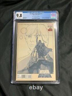 Marvel Comics STAR WARS Vader Down #1 CGC 9.8 VIENNA COMIC CON SKETCH COVER
