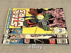 Marvel Comics Star Wars 1977 1 42 68 1st Print High Grade with White Pages Lot
