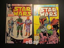 Marvel Comics Star Wars Complete Run Issues # 1-107 Complete EXCELLENT