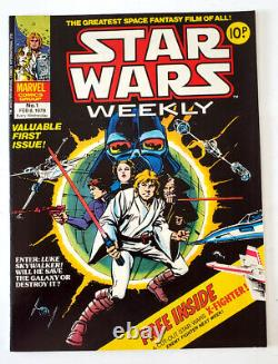 Marvel Comics UK Star Wars Weekly Issue #1 with X-Wing Fighter Cut-Out VF/NM 9.0
