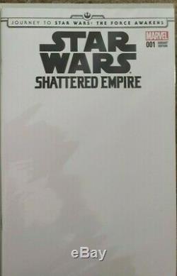 Marvel STAR WARS Lot of 19 Blank Sketch Variants Han Solo Darth Vader Leia Lando