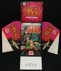 Marvel Special Edition Star Wars #1 Whitman Store Display w 24 copies (NM) 1977