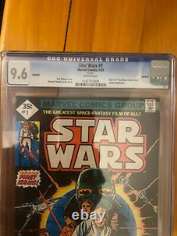 Marvel Star Wars 1977 #1 Cgc Graded Comics