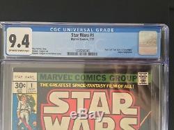 Marvel Star Wars #1 CGC 9.4 1st print 1977