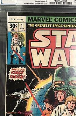 Marvel Star Wars #1 July 1977 CGC 9.6 A New Hope #0259551001 (BB MO)