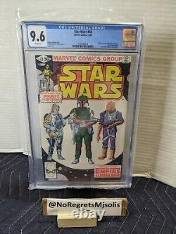 Marvel Star Wars #42 1980 CGC 9.6 1st app Boba Fett Disney + Mandalorian