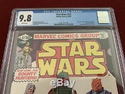 Marvel Star Wars 42 CGC 9.8 1st First Boba Fett