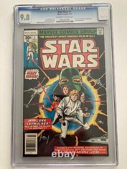 Marvel Star Wars Comic #1 CGC 9.8 Original First Issue KEY First Appearance