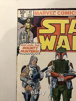 Marvel Star Wars Comic Book #42, First Boba Fett, First Full Yoda, Dec. 1980