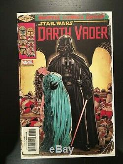 Marvel Star Wars DARTH VADER #1 150 MARK BROOKS Incentive Homage Variant! RARE