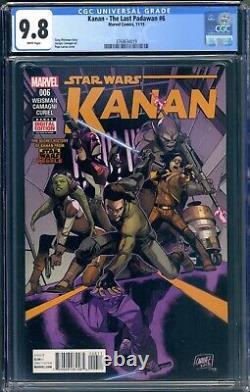 Marvel Star Wars Kanan The Last Padawan #6 Cgc 9.8 Nm/mt 1st Full Sabine Wren