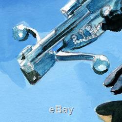 Mike Mayhew Original STAR WARS #20 Painted Cover Prelim
