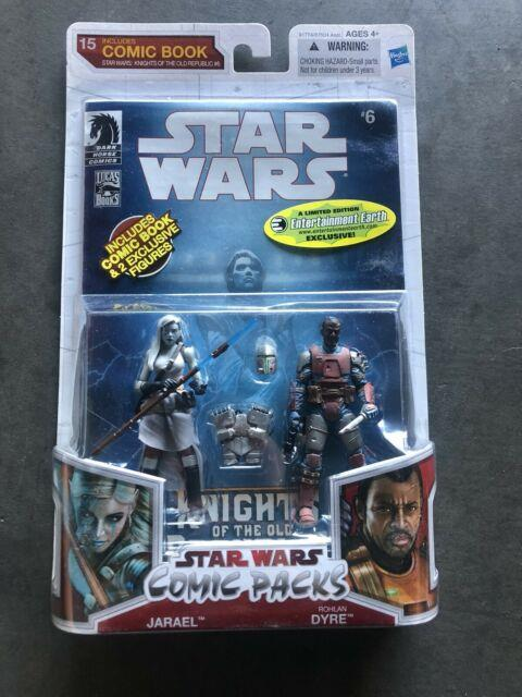 New Star Wars Comic Packs 15 Jarael Rohlan Dyre Legacy Collection 2009 Rare