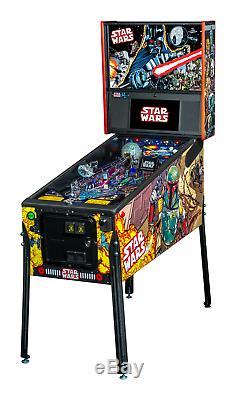 NEW Stern Star Wars PREMIUM Pinball Machine Free Shipping Comic Edition