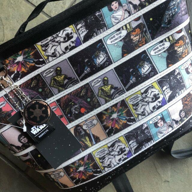 Nwt Disney Star Wars Harveys Medium Streamline Comic Tote Backpack