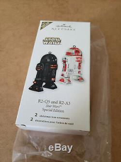 NYCC 2011 Hallmark Star Wars R2-Q5 R2-A3 Keepsake Ornament New York Comic Con