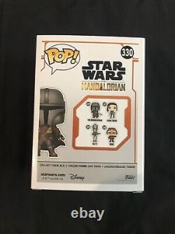 NYCC 2019 Comic Con Exclusive Sticker Star Wars The Mandalorian Funko Pop