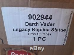 New Darth Vader Iron Studios 1/4 Legacy Replica Star Wars Sideshow