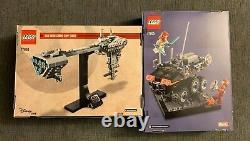 New LEGO Comic Con Bundle Star Wars Nebulon-B Frigate 77904 & Black Widow 77905