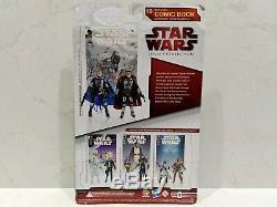 New VHTF Star Wars Comic Packs Open Season #2 MONTROSS & JASTER MEREEL Hasbro/DH